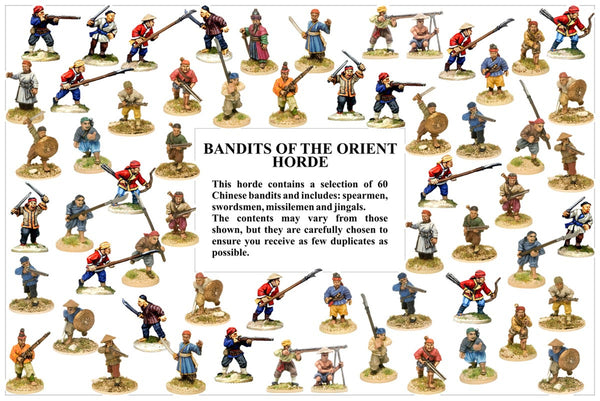 BHCH002 Chinese Bandits Of The Orient Horde