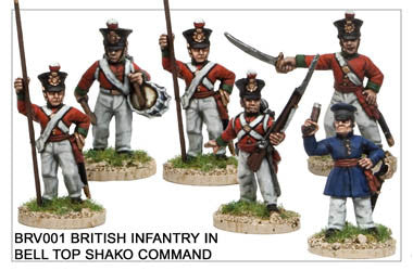 BRV001 British Infantry Command