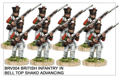 BRV004 British Infantry Advancing