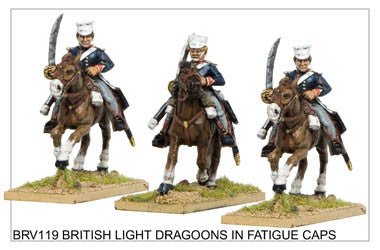 BRV119 Light Dragoons in Covered Caps