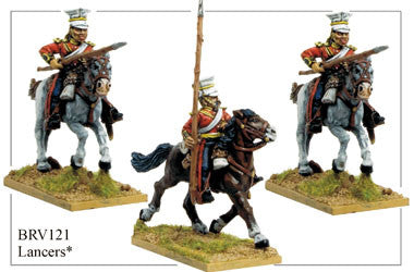 BRV121 Lancers in Covered Czapka