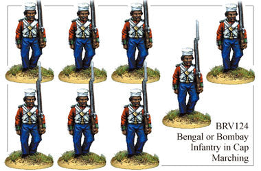BRV124 Bengal or Bombay Infantry Marching