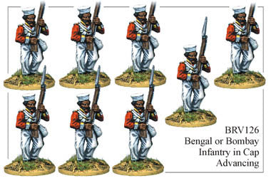 BRV126 Bengal or Bombay Infantry Advancing