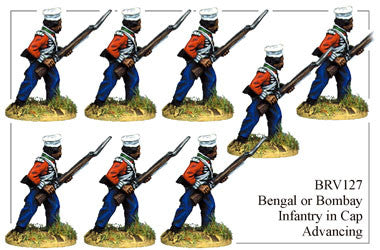 BRV127 Bengal or Bombay Infantry Advancing 2