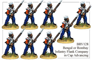 BRV128 Bengal or Bombay Infantry Advancing 3