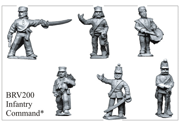 BRV200 British Infantry Command