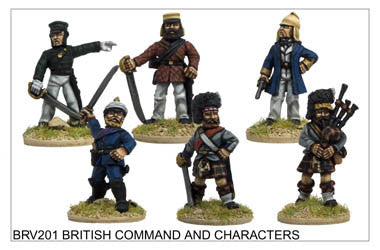 BRV201 British Command and Characters