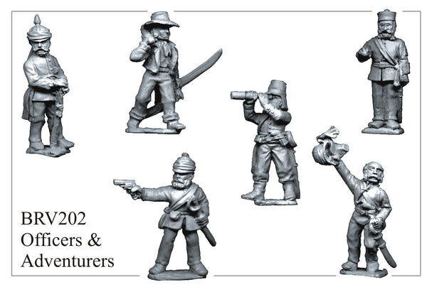 BRV202 British Officers and Adventurers