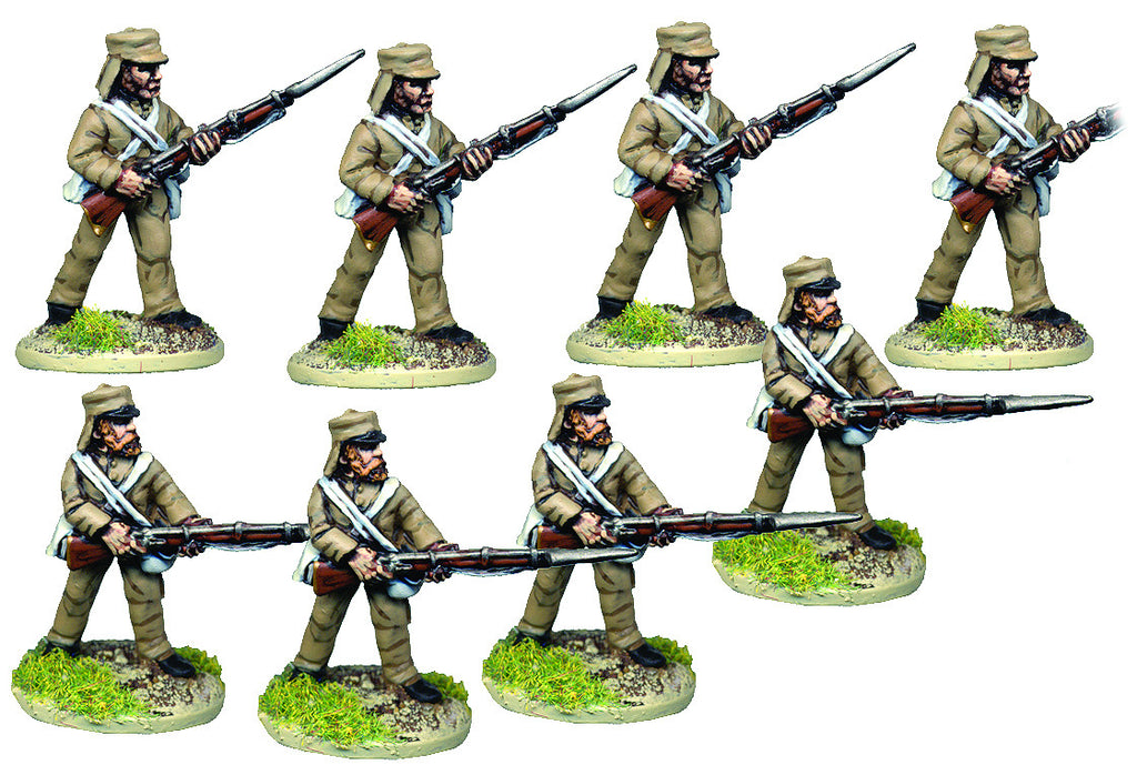 BRV203 British Infantry In Shell Jacket Advancing