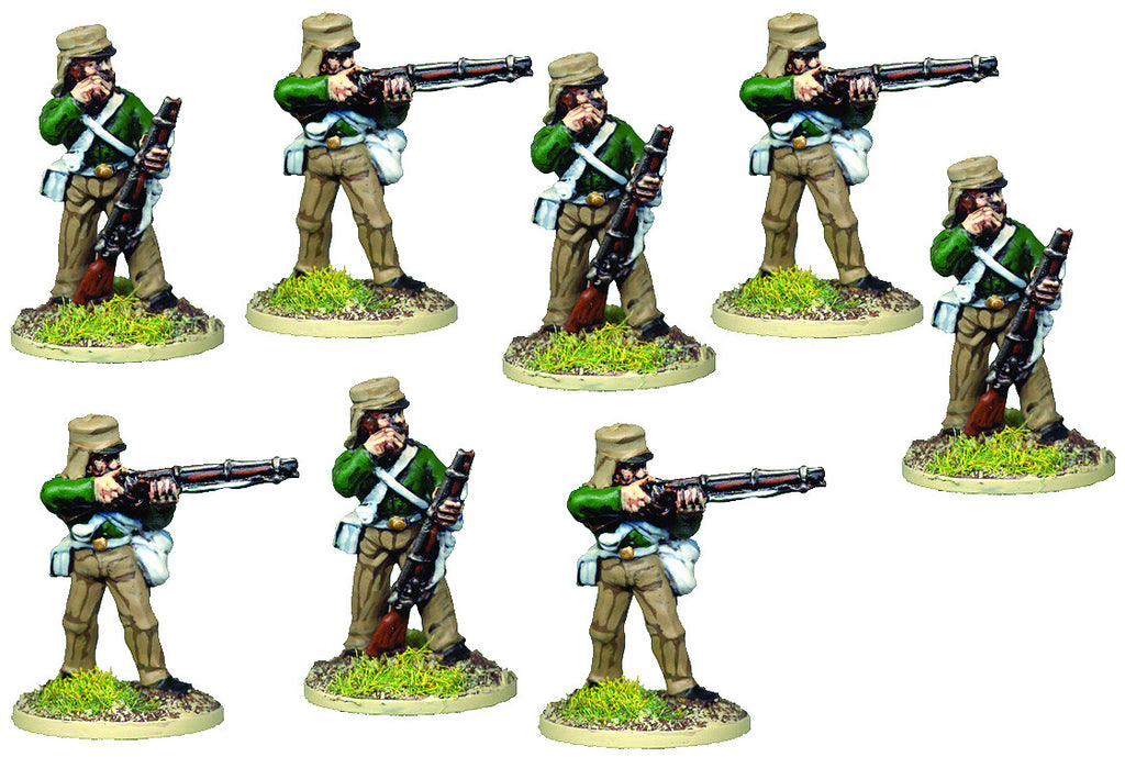 BRV204 British Infantry In Shell Jacket Firing