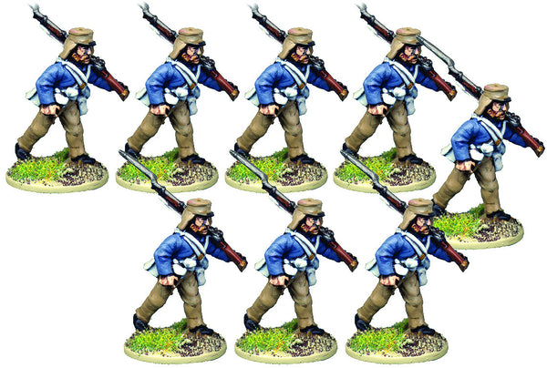 BRV205 British Infantry In Shell Jacket Advancing