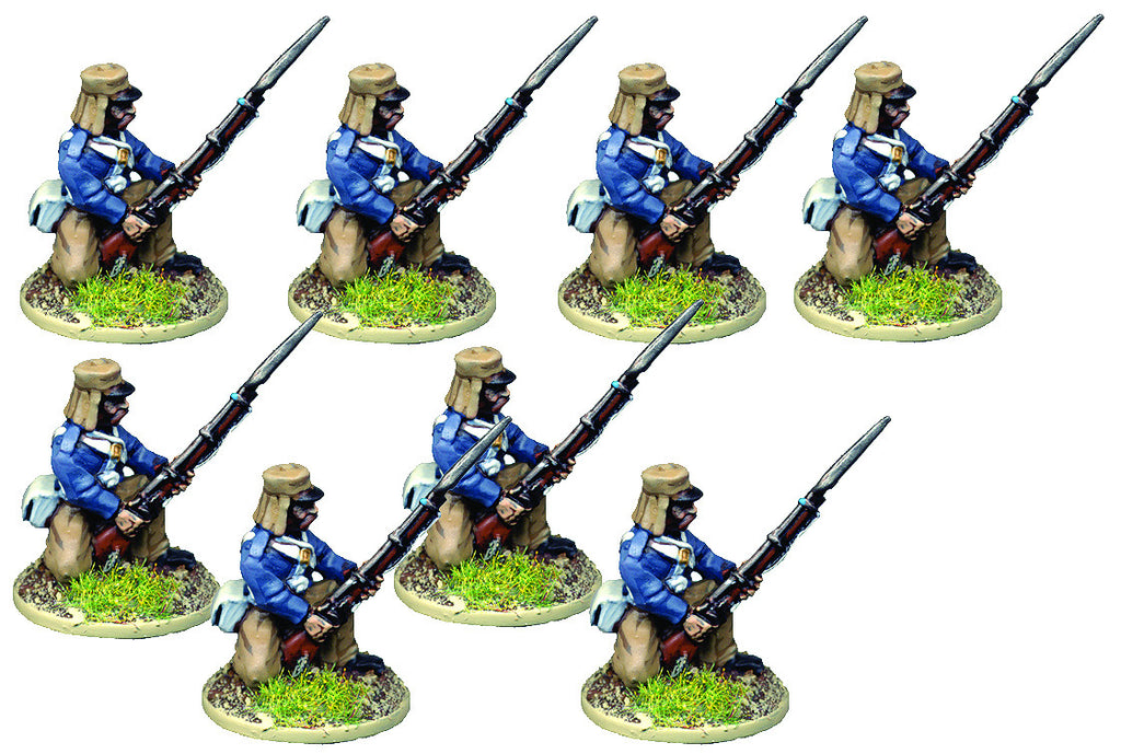BRV206 British Infantry In Shell Jackets Kneeling
