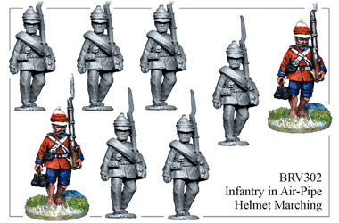 BRV302 British Infantry Marching