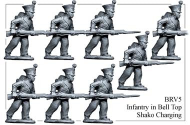 BRV005 British Infantry Charging