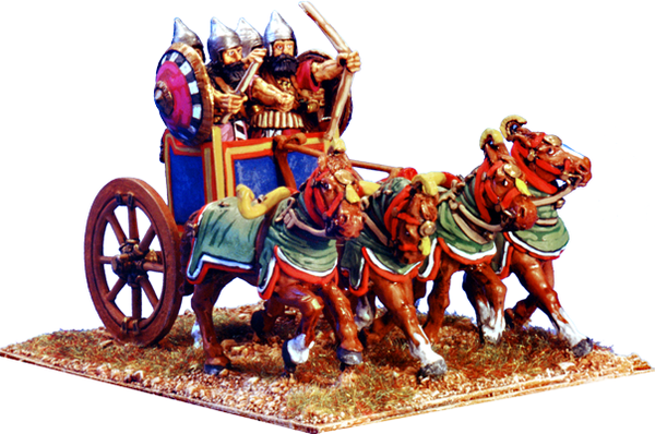 BSASS001 - Four Man, Four Horse Heavy Chariot 1
