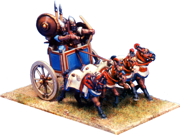 BSASS002 - Four Man, Four Horse Heavy Chariot 2