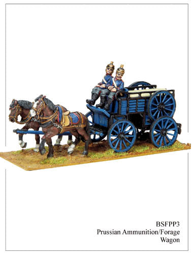 BSFPP003 Prussian Ammunition/Forage Wagon