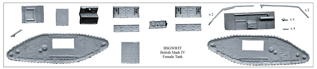 BSGWBTF - British Mark IV Female Tank