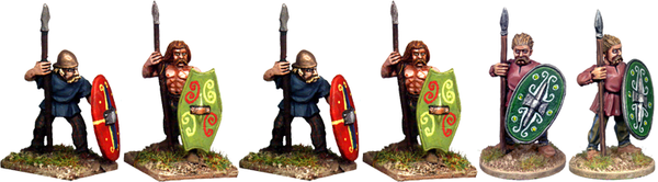 CB005 - Celtic Spearmen