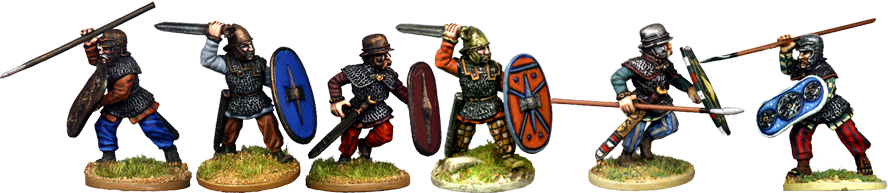CB006 - Armoured Celtic Nobles