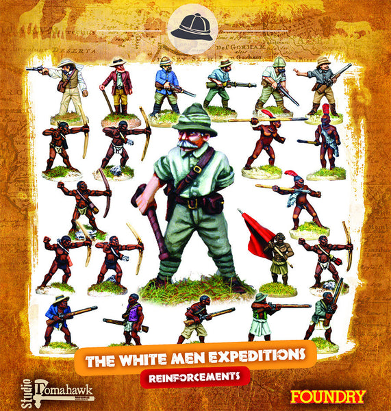 CONGO Box Set 6 - The White Men Expeditions REINFORCEMENTS
