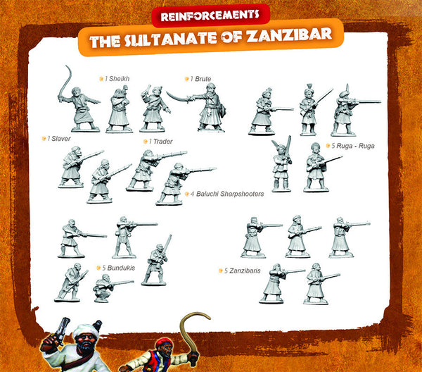 CONGO Box Set 7 - The Sultanate of Zanzibar REINFORCEMENTS