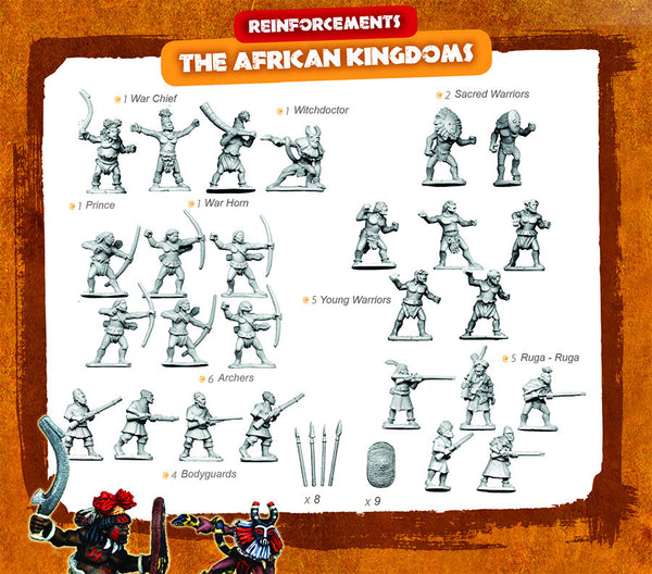 CONGO Box Set 9 - The African Kingdoms REINFORCEMENTS