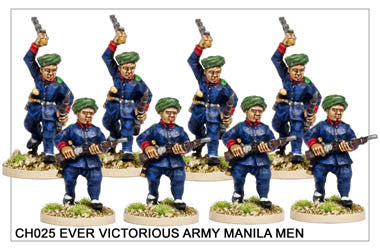 CH025 Ever Victorious Army Manilla Men