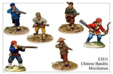 CH011 Chinese Bandits Armed with Missile Weapons