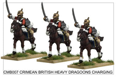 CMB007 Heavy Dragoons Charging