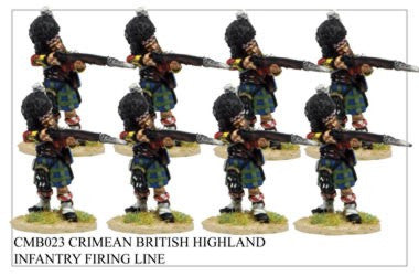 CMB023 Highland Infantry Firing