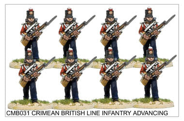 CMB031 Line Infantry Advancing