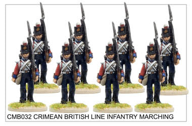 CMB032 Line Infantry Marching