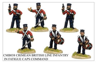 CMB038 Line Infantry in Fatigue Caps Command