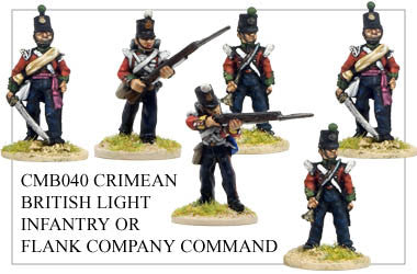CMB040 Light Infantry or Flank Company Command