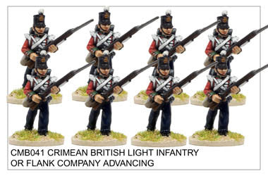 CMB041 Light Infantry or Flank Company Advancing
