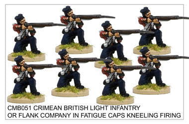 CMB051 Light Infantry or Flank Company in Fatigue Caps Kneeling