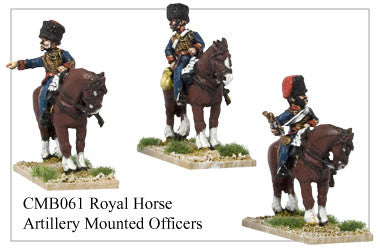 CMB061 Mounted Royal Artillery Officers
