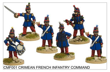 CMF001 French/Sardinian Infantry Command