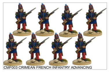 CMF003 French/Sardinian Infantry Advancing