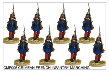 CMF006 French/Sardinian Infantry Marching