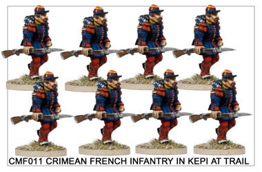 CMF011 Infantry in Kepis at Trail