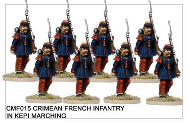 CMF015 Infantry in Kepis Marching