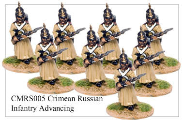 CMRS005 Infantry in Greatcoat and Helmet Advancing