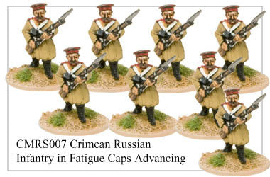 CMRS007 Infantry in Fatigue Caps Advancing