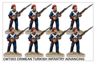 CMT003 Turkish/Egyptian Infantry Advancing