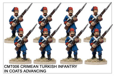 CMT006 Turkish Infantry Advancing