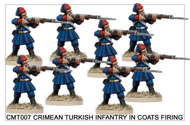 CMT007 Turkish Infantry Firing