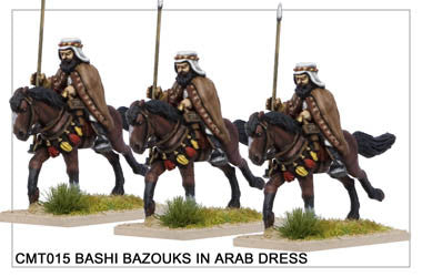 CMT015 Bashi Bazouks in Arab Dress