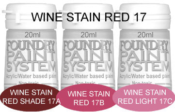 COL017 - Wine Stain Red